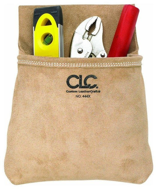 Clc Toolworks Single-Pocket Suede Tool Pouch.
