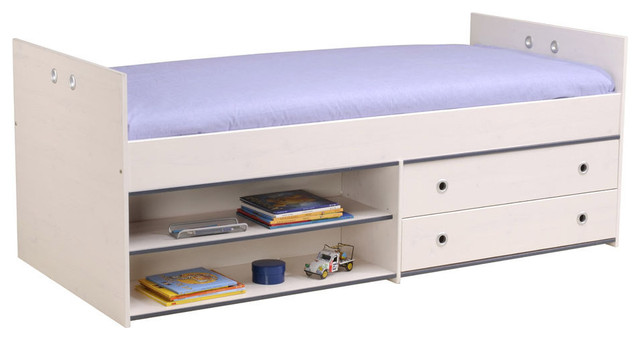 Smoozy Bed With 2 Drawers.