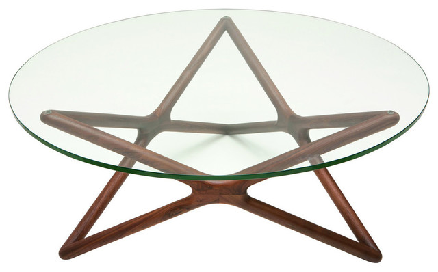 Nuevo Living Star Coffee Table, American Walnut