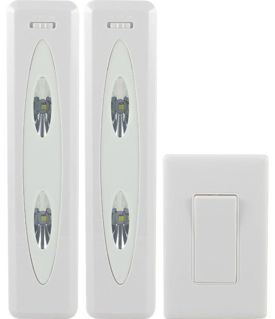 Ge 17528 Battery Operated Wireless Remote Control Led Light Bars 12