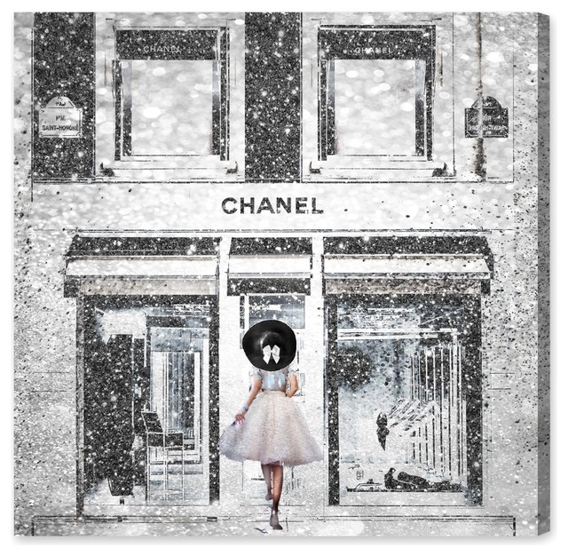 """""""queen Of The Store"""" Canvas Art, 20""""x20""""."""