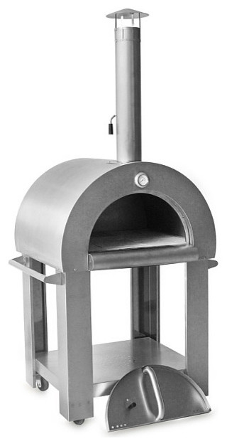 Thor Kitchen Wood Fire Pizza Oven Stainless Steel