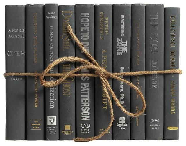 Decorative Books, The Modern Graphite Colorpak