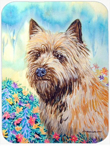 Cairn Terrier Glass Cutting Board Large Traditional