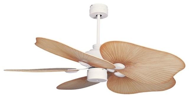 Ellington Tah52mww5 Tahiti 52 In Indoor Outdoor Ceiling Fan Matte White Tah