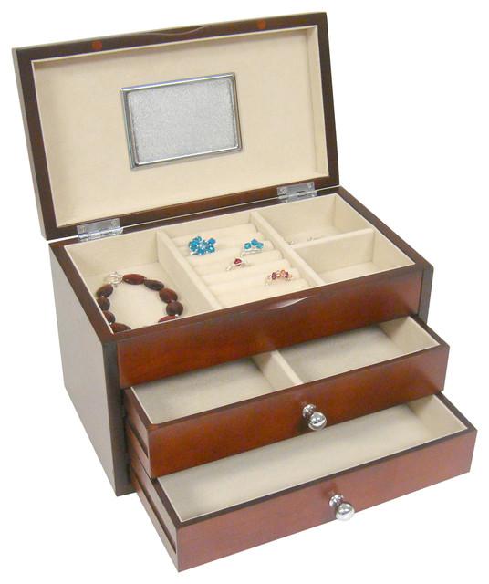 Shop Houzz Proman Products Genoa Jewelry Box Jewelry