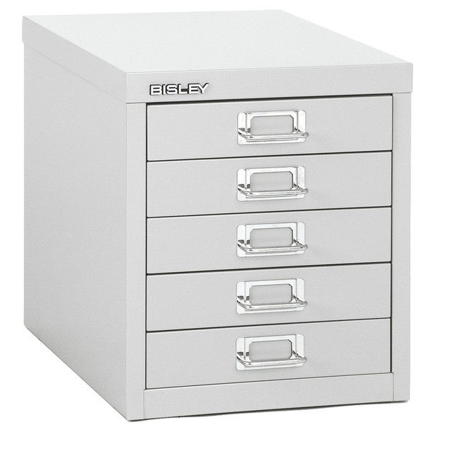 Bisley 5-Drawer Steel Desktop Multidrawer Storage Cabinet - Contemporary - Storage Cabinets - by ...
