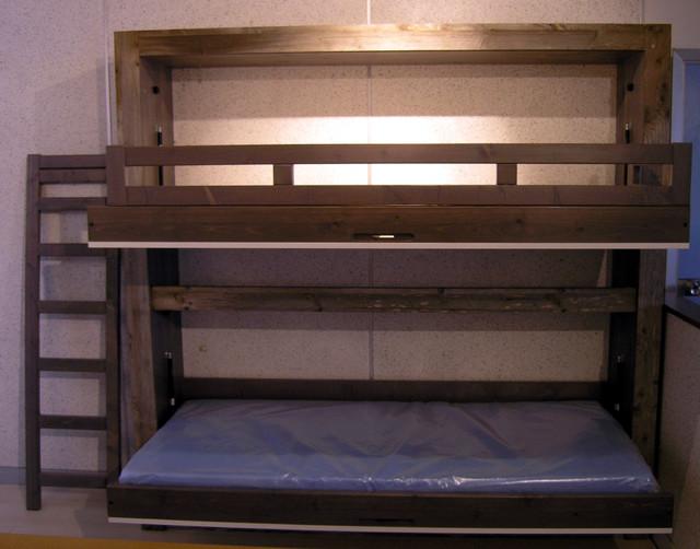 lit superpos rabattable linea. Black Bedroom Furniture Sets. Home Design Ideas