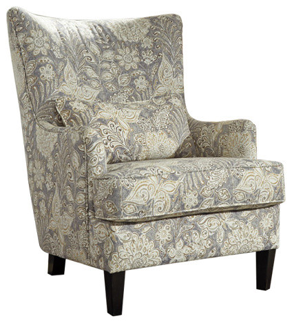 Avelynne Accent Chair Ocean 8130221 Contemporary