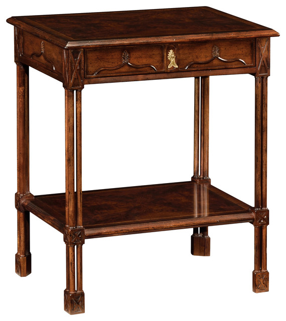 Jonathan Charles Chippendale Gothic Rectangular Side Table