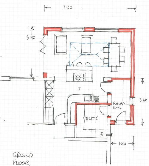 Kitchen Diner Layout Plans