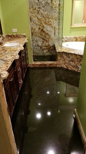 Mission Viejo Marble Bathroom & Jacuzzi Tub