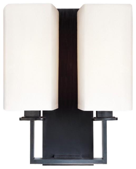 Wall Sconces Transitional : Baldwin 2-Light Wall Sconce - Transitional - Wall Sconces - by Arcadian Home & Lighting