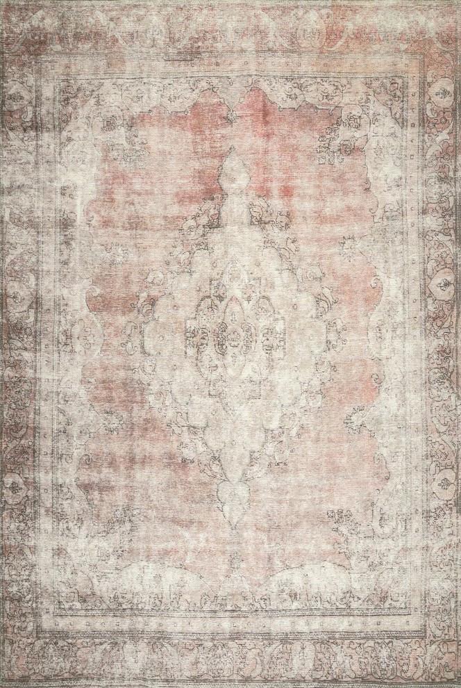 Nuloom Cotton Hebe Traditional Vintage Area Rug Contemporary Area Rugs By Nuloom Houzz