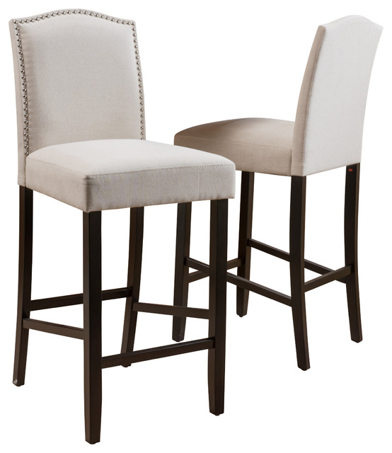 Auburn Bar Stools Set of 2 Ivory Transitional Bar  : transitional bar stools and counter stools from www.houzz.com size 554 x 640 jpeg 54kB