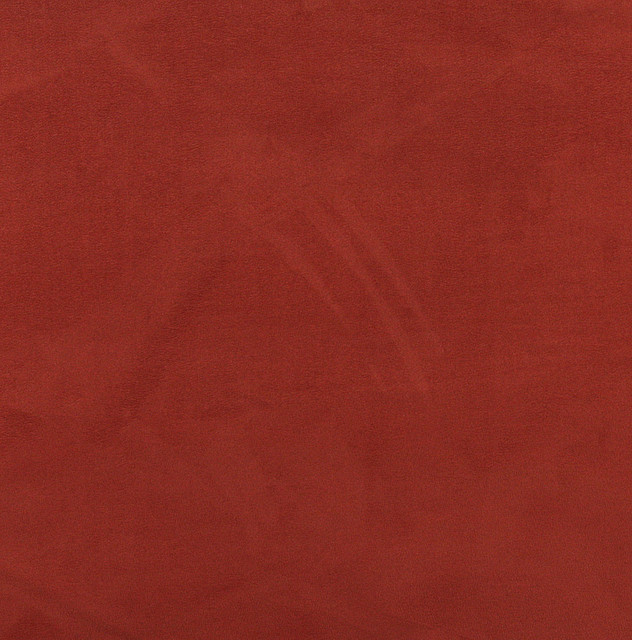 C051 Red Orange Microsuede Fabric By The Yard