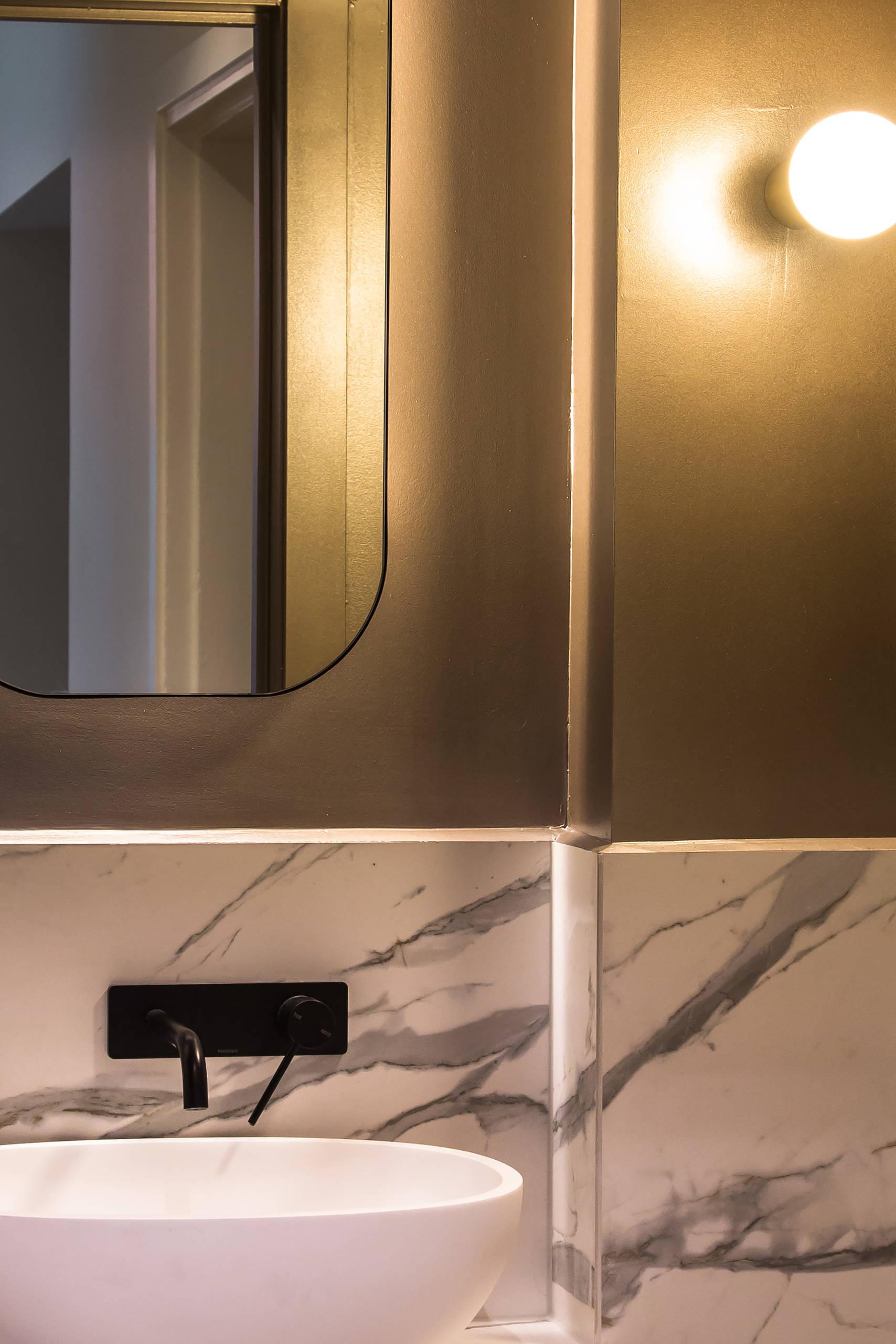 Melbourne interior designer bathroom design st kilda west bayside melbourne