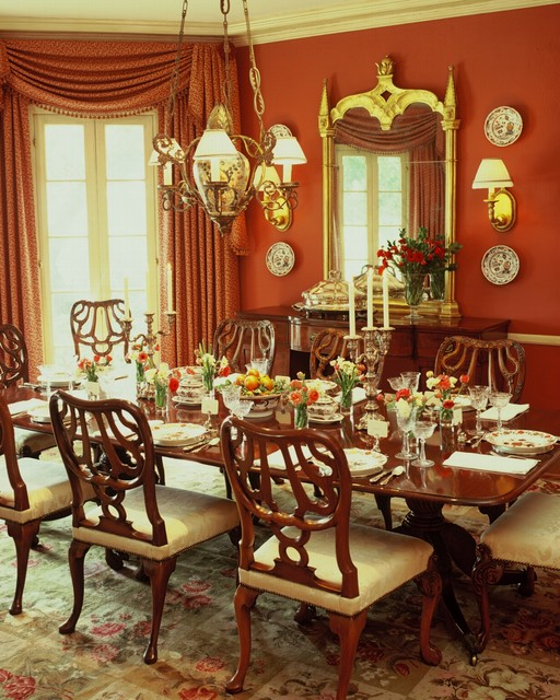 Traditional Dining Room: English Style Estate