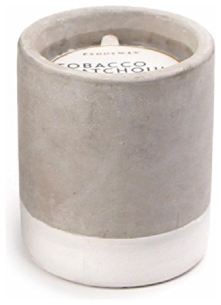 Paddywax Urban Collection Scented Soy Wax Candle, 3.5 oz., Tobacco and Patchouli