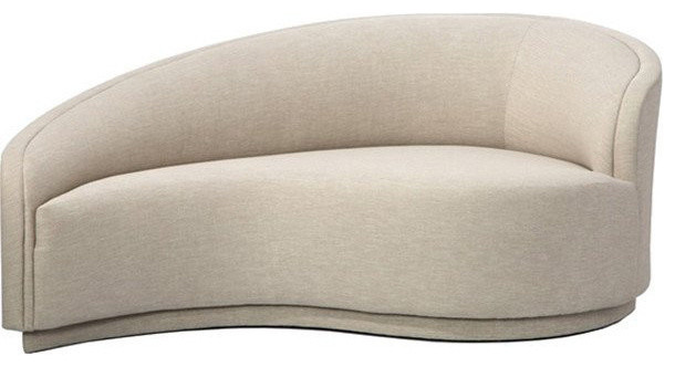 Interlude Dana Right Arm Chaise Indoor Chaise Lounge Chairs Houzz