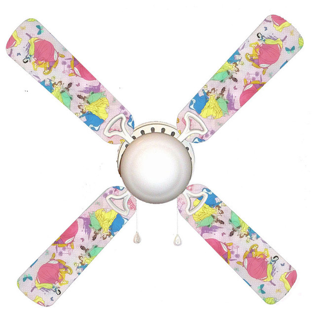 "Disney Princesses Classic 42"" Ceiling Fan And Lamp."