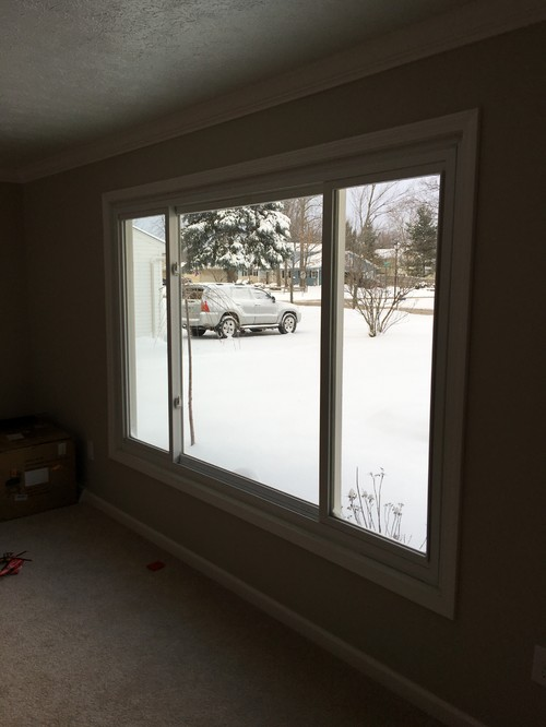 Large front window for Large front windows house