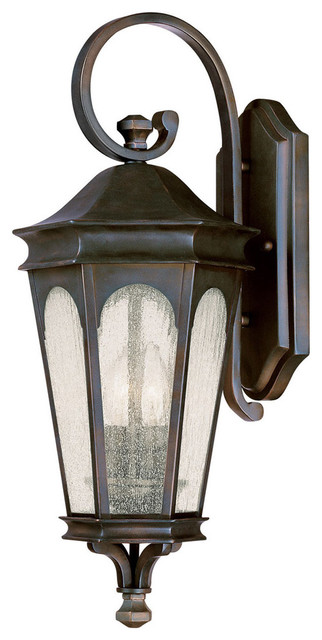 Inman Park 2-Light Outdoor Wall Lights, Old Bronze