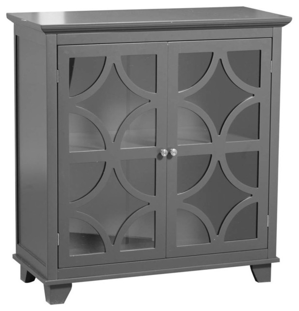 Double Door Cabinet - Contemporary - Accent Chests And Cabinets - by ShopLadder