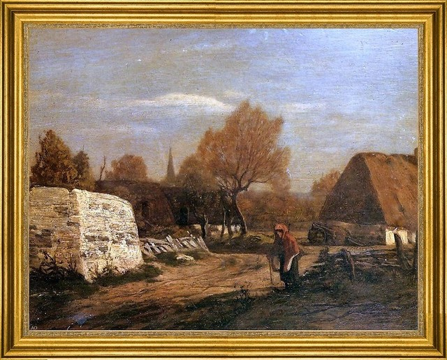 Eugene Louis Boudin 18 Quot X24 Quot Framed Canvas Traditional