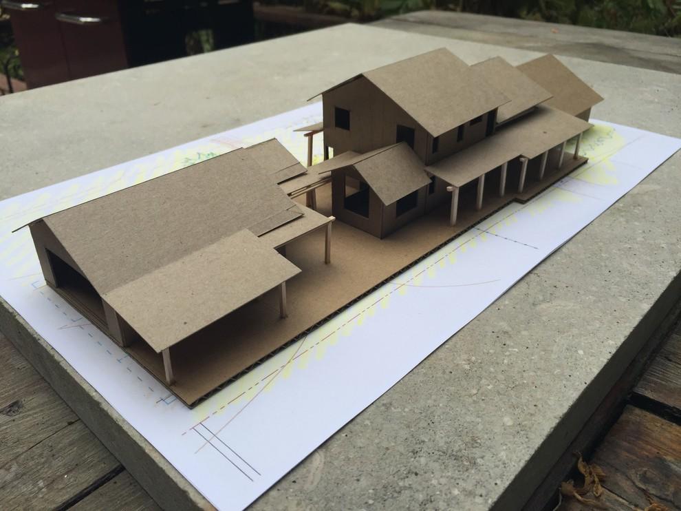 3D Model - Street View Looking Northwest