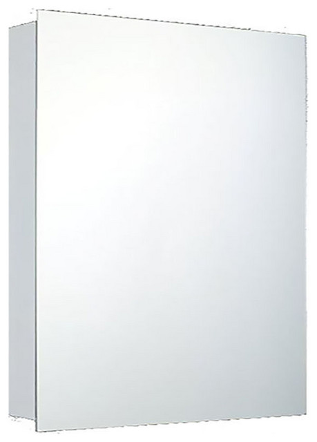 "Deluxe Series Medicine Cabinet, 24""x30"", Polished Edge, Surface Mounted"