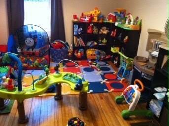 Playroom Dining Room Combo Help