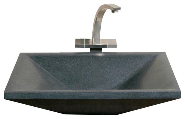 Shop Houzz The Allstone Group Vessel Sink Rectangular
