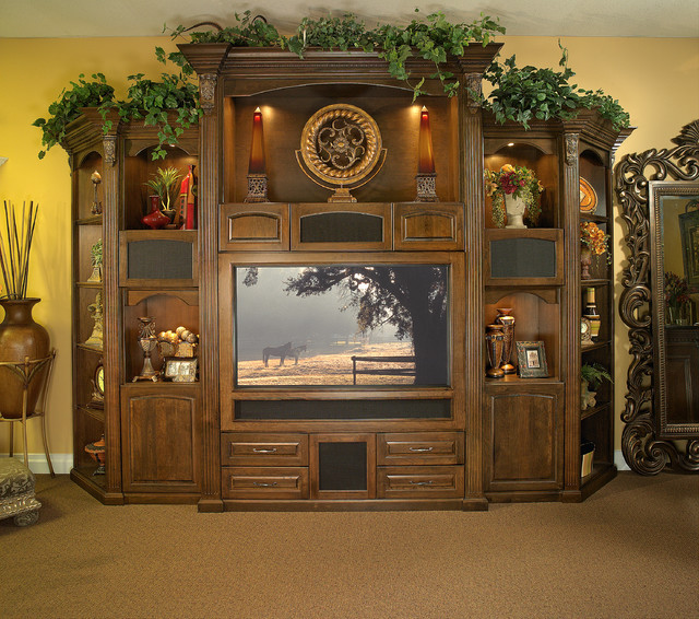 Exceptional Furniture Design Gallery Inc Furniture U0026 Accessories. Custom Made Wall Unit  For Large Screen Plasma TV Traditional