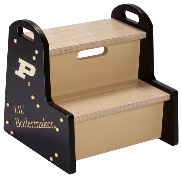 Purdue University Lil Boilermaker Step Stool
