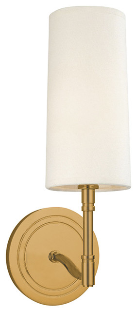 Dillon 1-Light Wall Sconce - Wall Sconces - by Luxury Lighting Direct