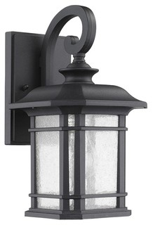 Harding transitional outdoor wall sconce black traditional harding transitional outdoor wall sconce black traditional outdoor wall lights and sconces by shopladder workwithnaturefo