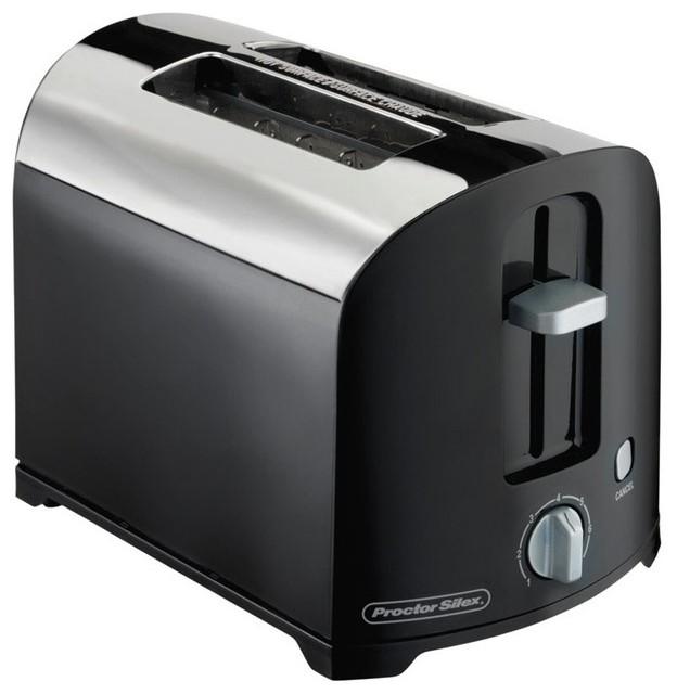 proctor silex 22622 2 slice cool wall toaster black. Black Bedroom Furniture Sets. Home Design Ideas