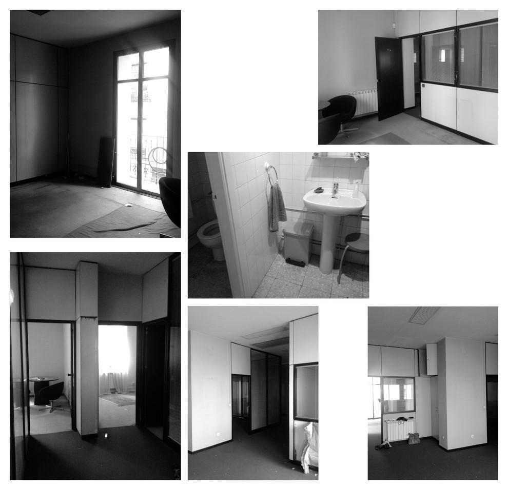 Fotos de antes, era una oficina.
