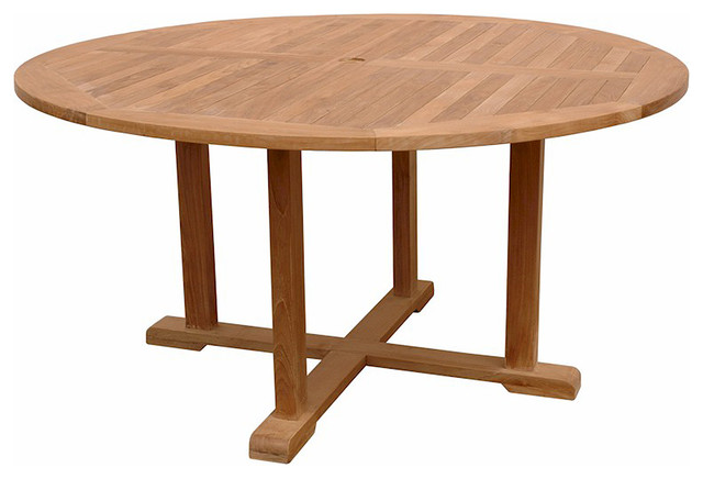 Tosca Round Big Table Unfinished Craftsman Outdoor