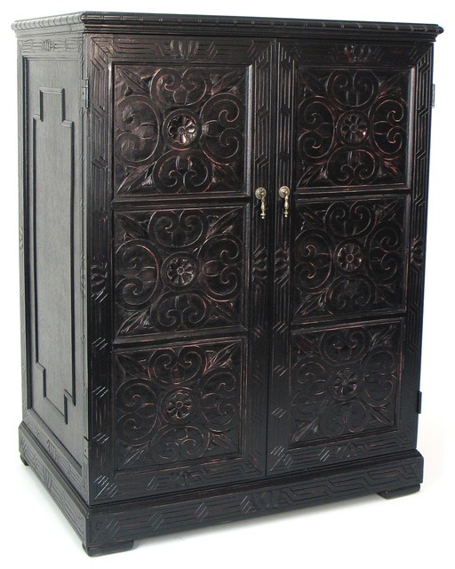 Benfu Tv Armoire Mediterranean Accent Chests And