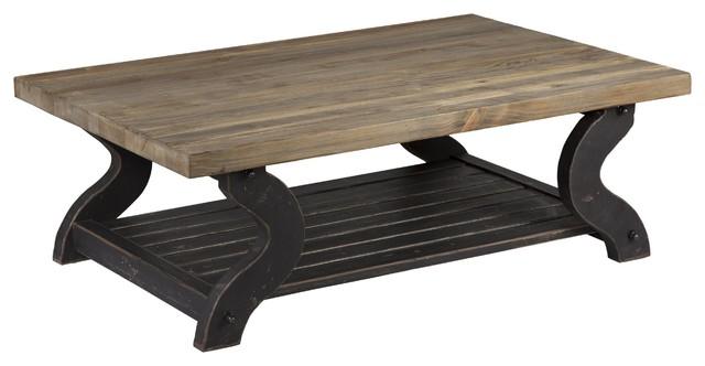 Jefferson Reclaimed Pine Coffee Table By Kosas Home