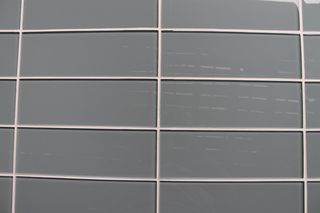 Chimney Smoke Gray Gl Subway Tile 4 X12 Tiles