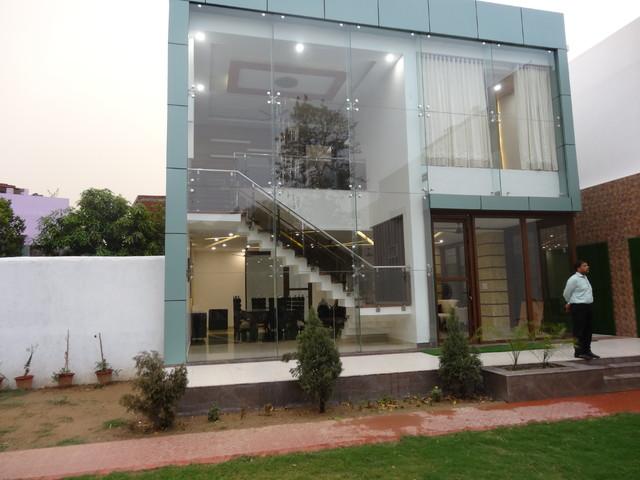 Elevation contemporary-exterior