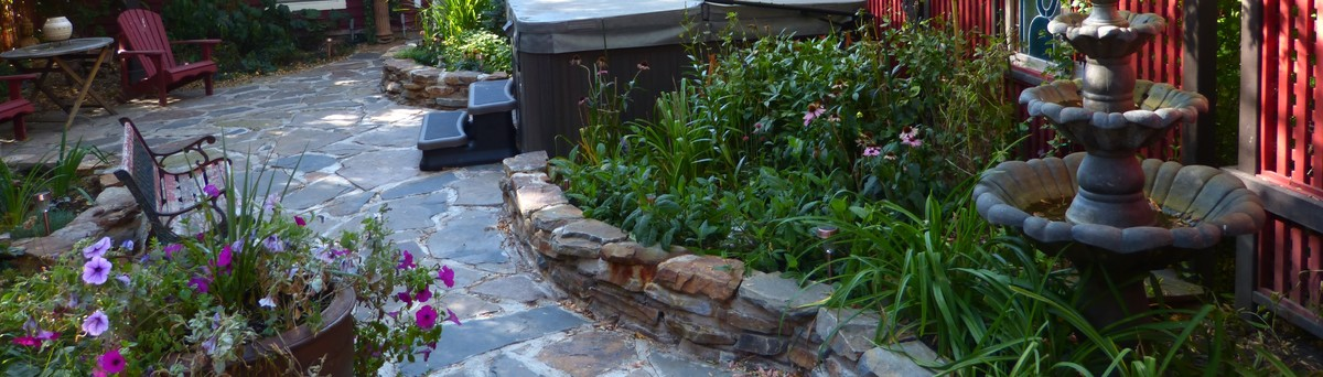 Julia's Alpine Garden Edmonton AB CA T48m 48s48 Interesting Alpine Garden Design