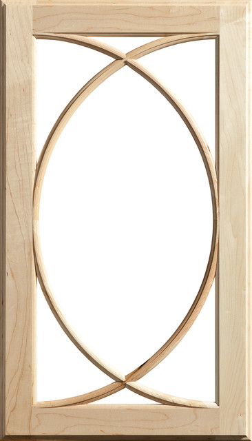 Dura Supreme Cabinetry Mullion Patter #15 Accent Cabinet Door - Eclectic - Accent Chests And ...