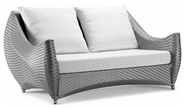 Peachy White Peak Loveseat Purple Cushion Lamtechconsult Wood Chair Design Ideas Lamtechconsultcom