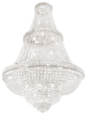 French Empire Crystal Chandelier With Swarovski Crystal