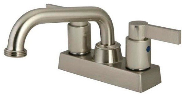 Two Handle 4-Inch Centerset Laundry Faucet