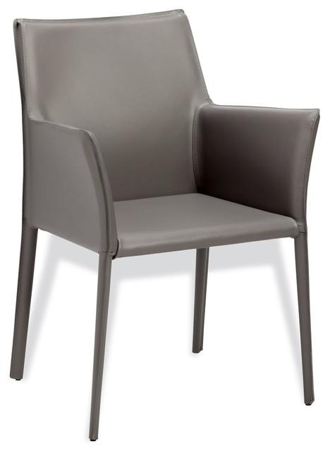 Jada Arm Chair in Grey